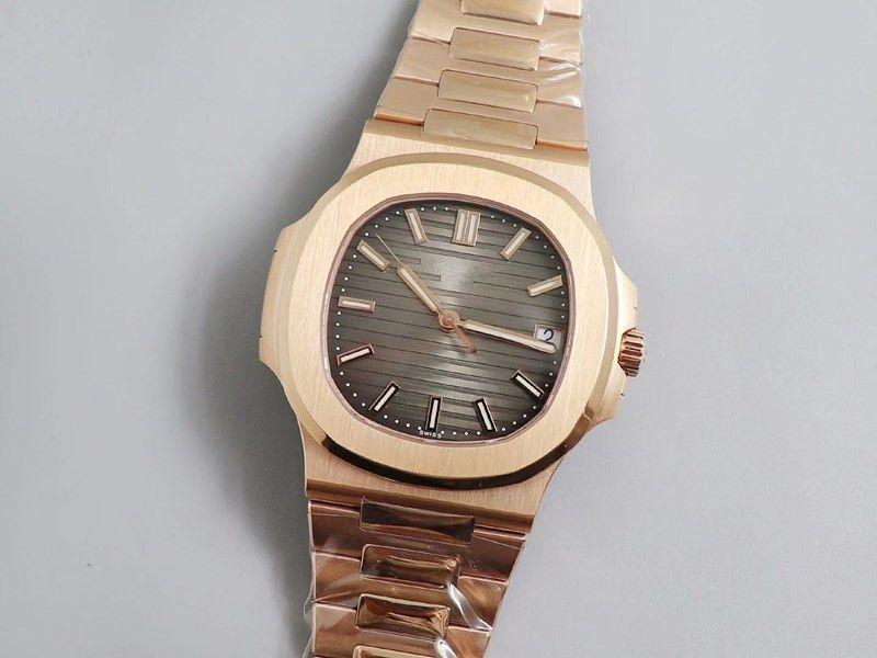 PPF eccellente ammoniti 5711r-001 USI svizzero 4N rosa gold.Equipped con cal324 movement.Thickness automatica della più sottile top versione 8,6 millimetri