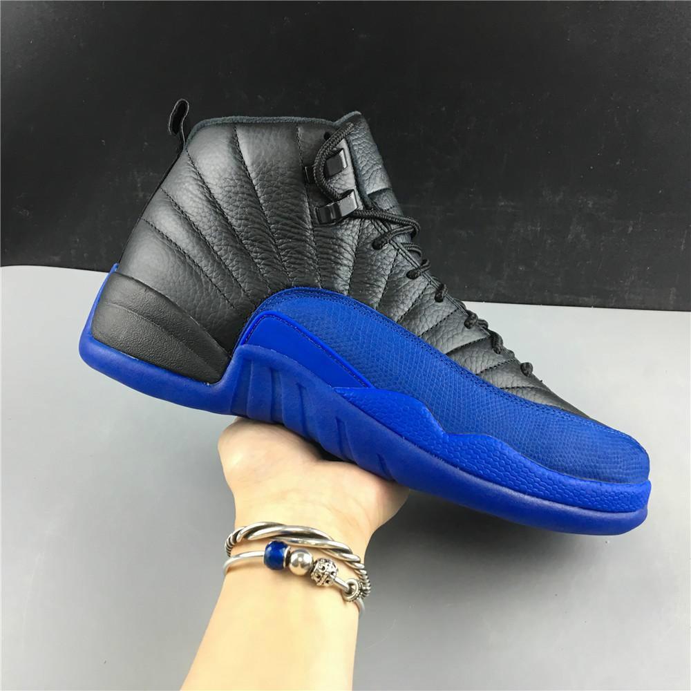 Neue 12 XII Spiel BLUE BLACK 12S LOW Mann-Basketball-Schuhe Sport Designer Sneakers Outdoor-Trainer Top-Qualität 2019 Größe 7-13