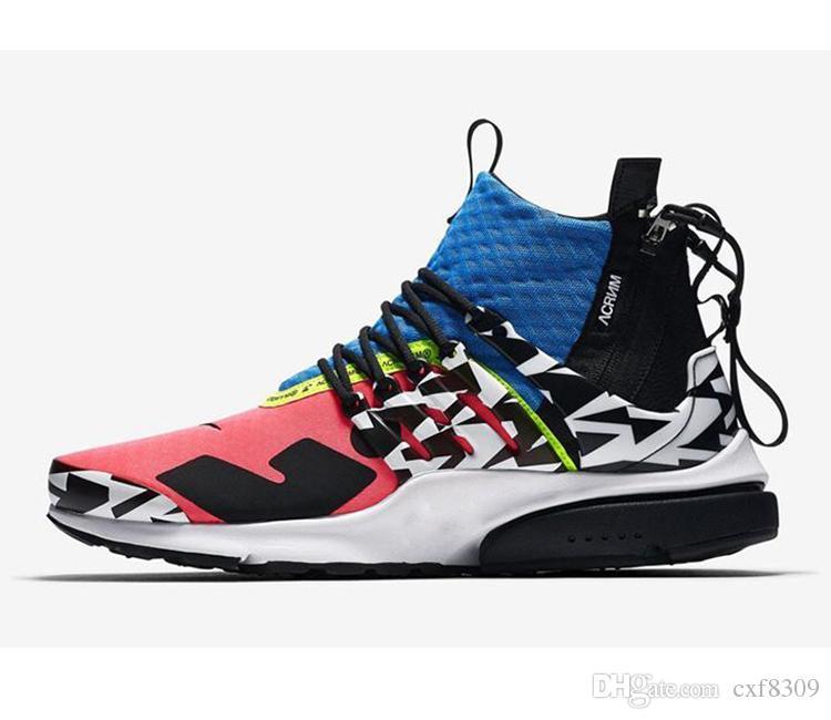 NEW mid running shoes athletic tênis de basquete dos homens racer rosa foto designer sapatos mulheres azul branco preto esporte sneakers ue36-45