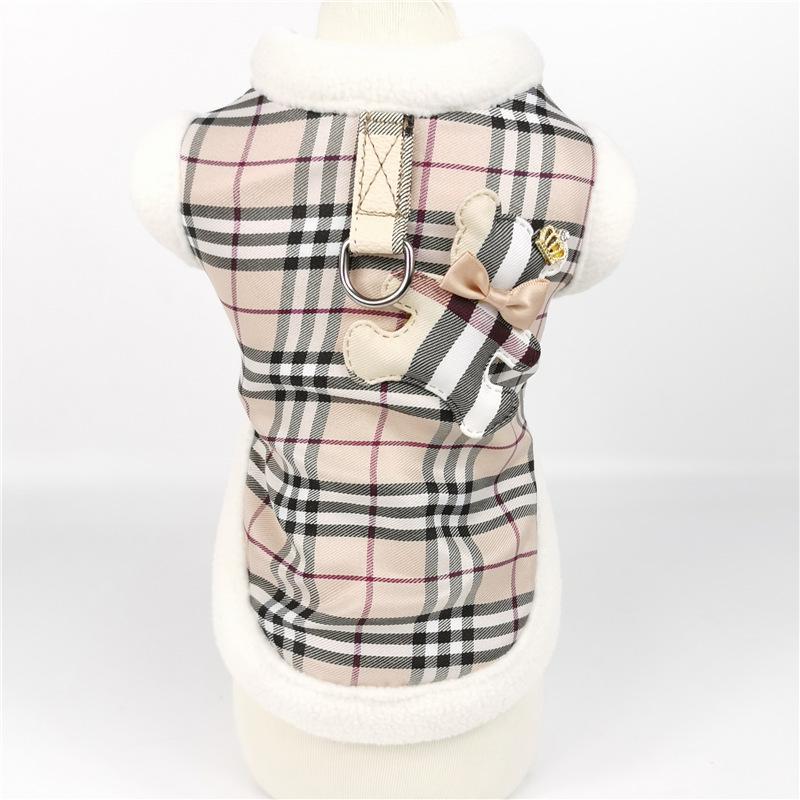الكلاسيكية ملابس الحيوانات الأليفة الشبكة الدب رشيقة القماش الكلب الملابس تناسب القط التنورة الحيوانات الأليفة ملابس إكسسوارات الجر