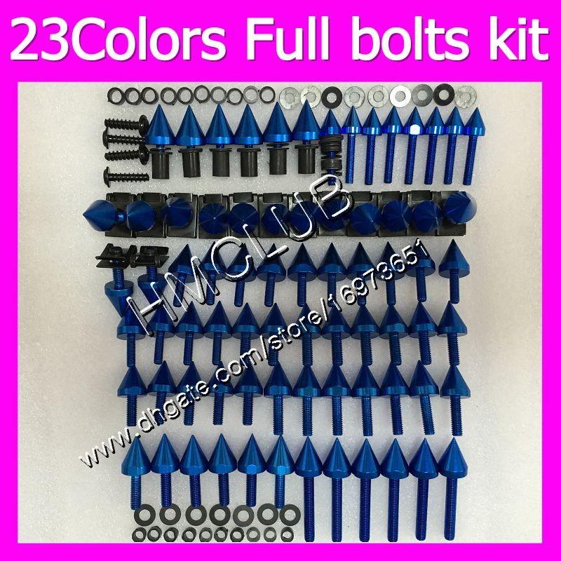 tornillos pernos carenado completo kit para HONDA CBR1100XX mirlo 1100XX 1996 1997 1998 1999 2000 2001 Tuerca 96-07 MC129 OEM cuerpo tuercas del perno
