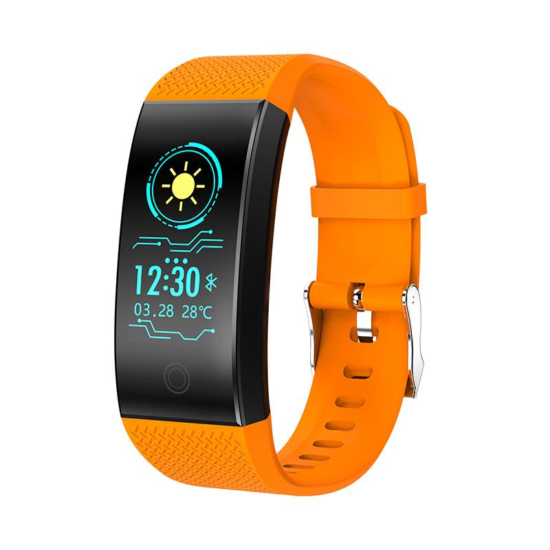 Smart wristbands touch waterproof health monitoring information push sleep analysis location tracking photography Wireless transmission
