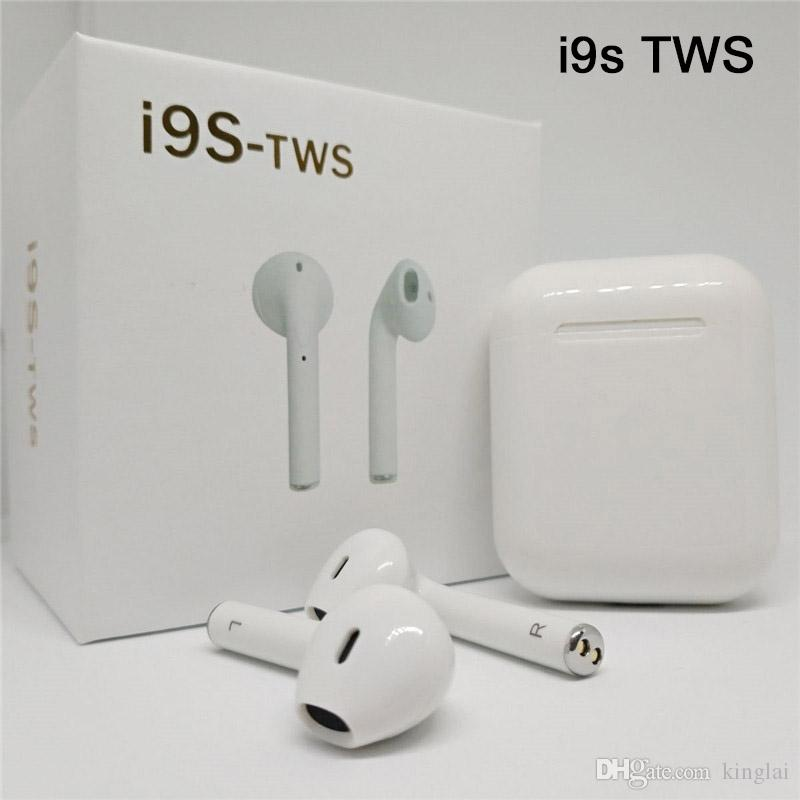 i9s i7s tws Bluetooth Earphone Wireless Headphones Invisible Earbuds Stereo Charger Case PK I12 I10 For iPhone Samsung Xiaomi Huawei Headset