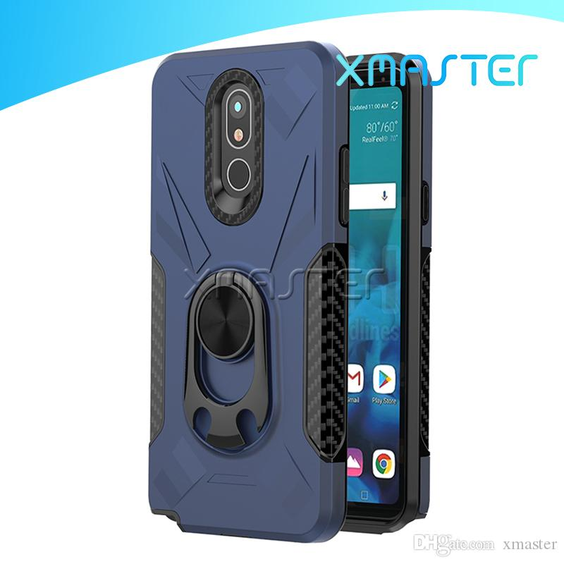Bier-Öffner Ständer Phone Case für LG Stylo 5 4 3 K40 K10 Aristo 2 MOTO G7 Netz Coolpad Legacy-Back Cover izeso