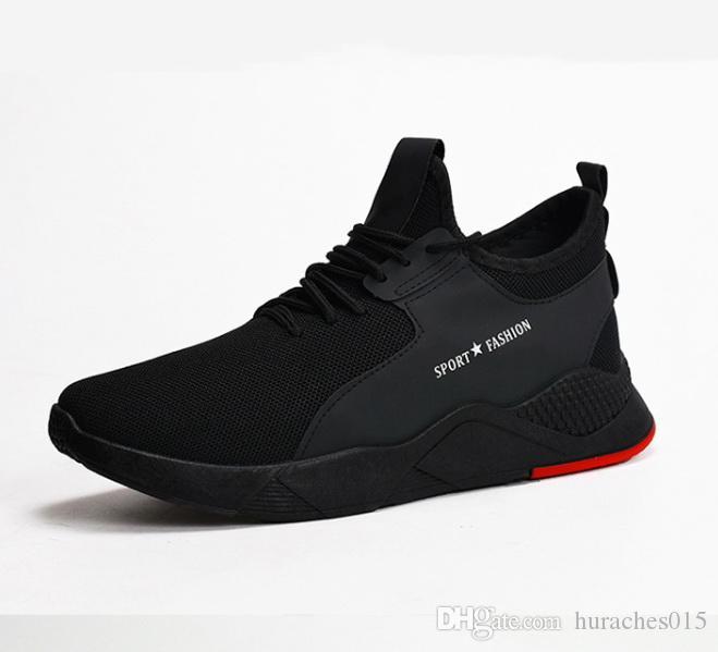 2020 pattini casuali della molla nuovi di stile uomini in stile coreano Trend Fly tessuti, per uomo SCARPE scarpe da corsa