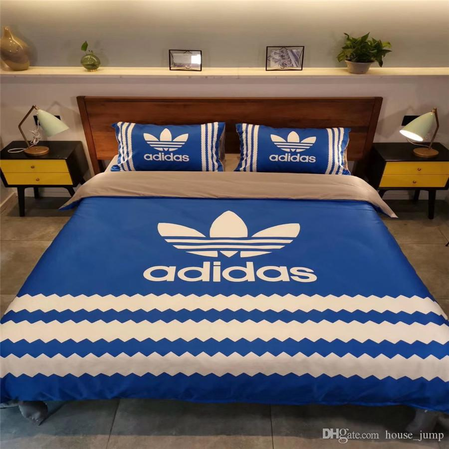 Clover Sports Tide Brand Bedding Suit Modal Fabrics Fashion Bed Cover New Stripe Autumn And Winter Bedding