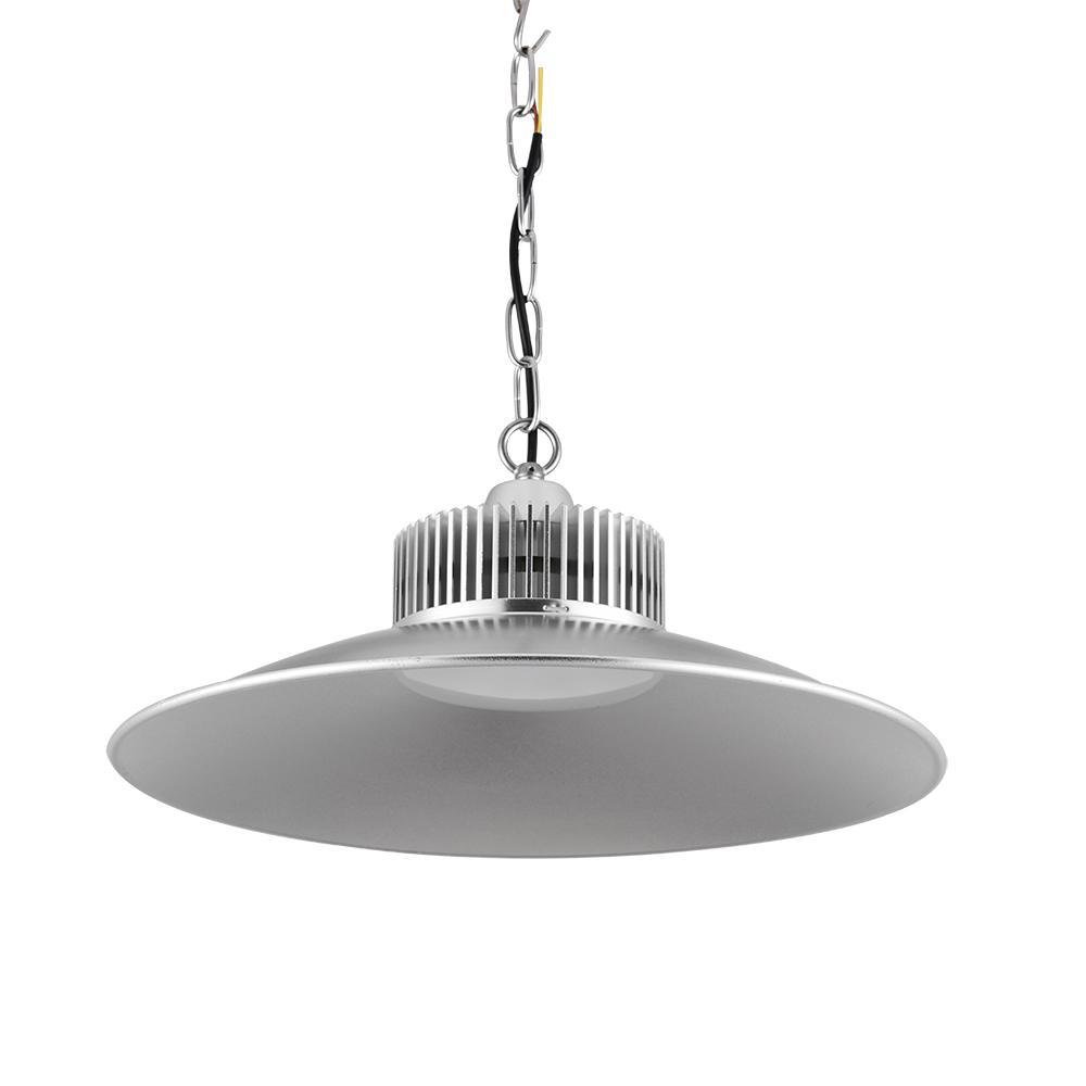 Super brillante 150W lámpara de minería Sombrero de paja 220V LED Industria de la industria Iluminación High Bay Light para almacenes Lámpara colgante de garaje