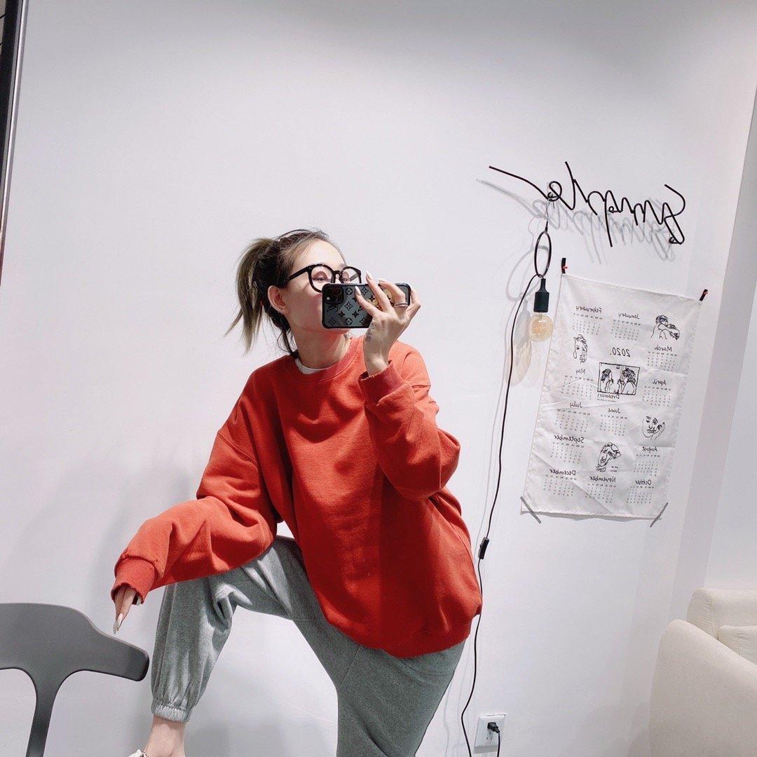 2020 primavera e l'autunno signore maglione moda manica lunga felpa miglior abbigliamento casual JDZM