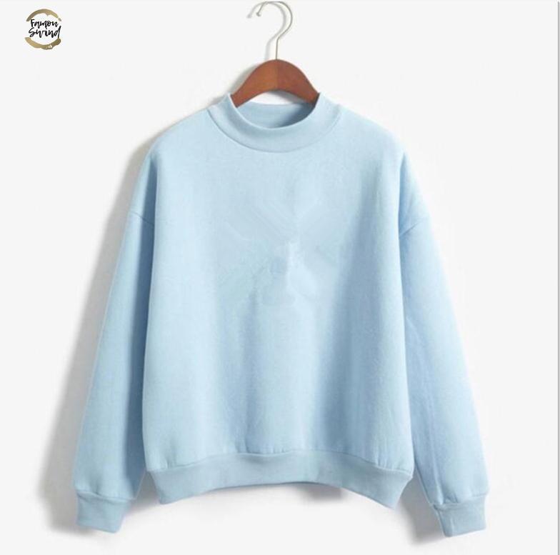 2019 neue Art und Weise Frau Kleidung der neuen Frauen Sweatshirt Brief Pullover Langarm Famale Sweatshirt Drop Shipping