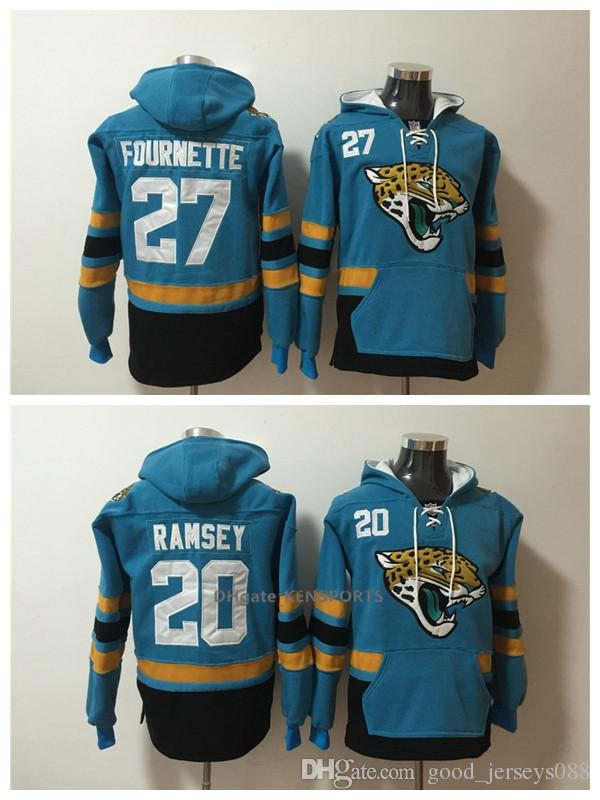 best sneakers b9997 e71fd 2019 Men Jacksonville Jaguars Hoodie 20 Jalen Ramsey 27 Leonard Fournette  American Football Stitched Pullover Sweatshirt From Good_jerseys088,  &Price; ...
