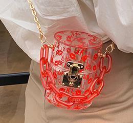 Дизайнер Женская сумка 2020 лето новые моды цепи плеча Сумка Wild Mini Jelly сумка Бесплатная доставка