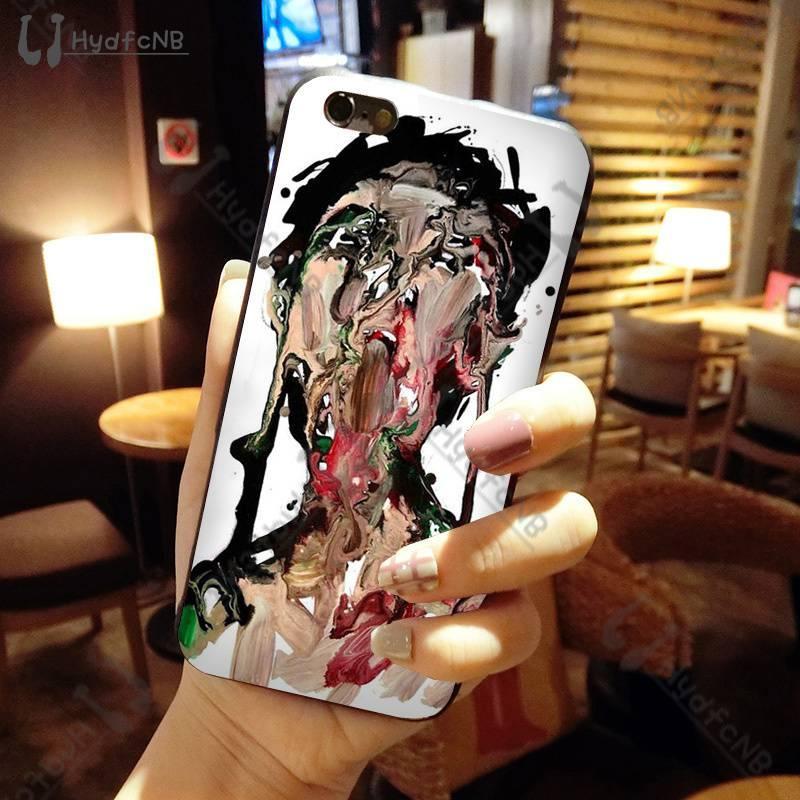 2020 persone astratta illustrazione cassa del telefono in silicone per iPhone 11 pro XS MAX 8 7 6 6S Plus X 5 5S SE XR caso all'ingrosso