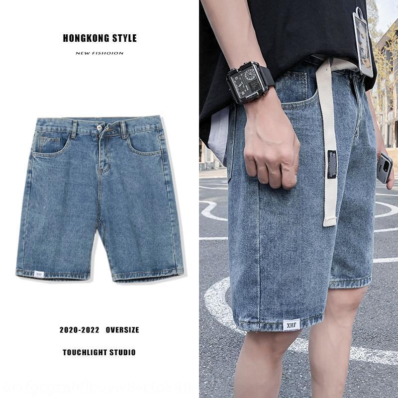PJjkZ 3316 caviglia pantaloni jeansjeans e jeanssummer pantaloncini di jeans diritto casuale sottile pantaloni corti coreani dei jeans uomini di stile moda mi