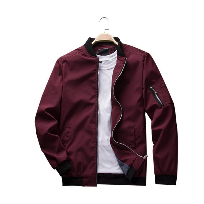 Mens Luxury Fur Stand Collar Zipper Jacket Winter Warm Hoodie Outwear Coat G99