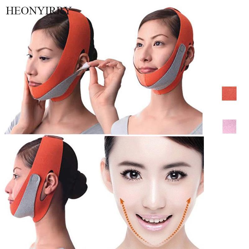 Dünne Gesichtslift Massager Maske Gürtel Gesichtswerkzeug Reduzieren Sie doppelte Kinn-Bandage-Shaper Health Gadgets