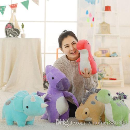 Dinosaur doll little monster parent child doll soft plush gift for kids