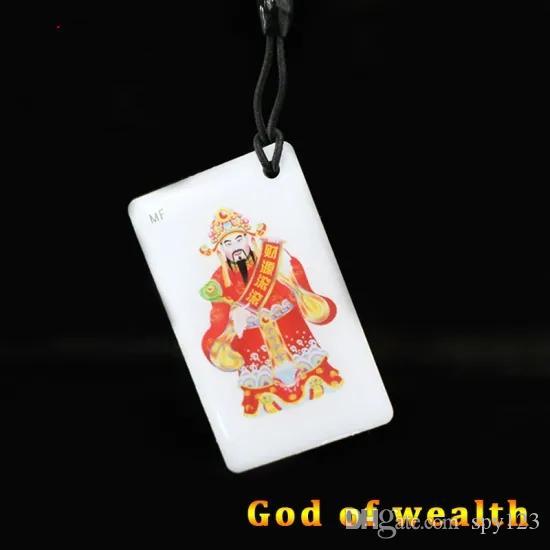 معرف UID التحكم في الوصول نسخة بطاقة الكرتون الغراء (إله الثروة) الصانع الصينية