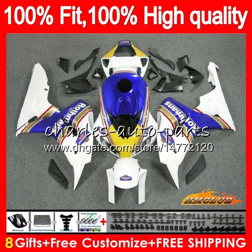 Injection Rothmans bleu OEM pour HONDA CBR 1000 RR 1000CC 06 07 corps 78HC.2 CBR1000 RR CBR 1000RR CBR1000RR 06 07 2006 2007 100% Fit Carénage