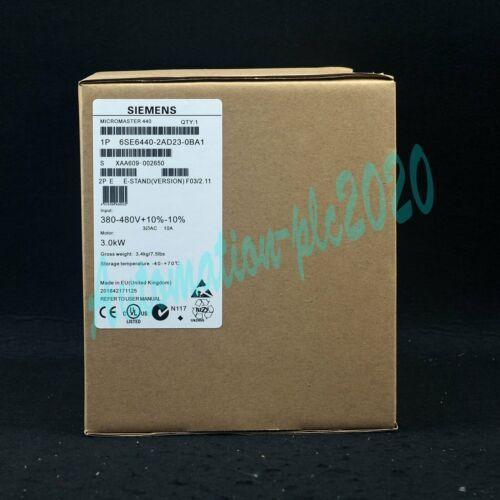 Siemens 1PC Nuovo 6SE6440-2AD23-0BA1 M440 inverter trifase 380V 3kw