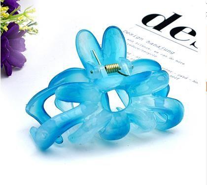 2020 New alta Resina qualidade do cabelo Garras Meninas Cabelo Acessórios Flor Garra Cabelo Clip Jewelry cabeça Fashion For Women presente LG820055 S919