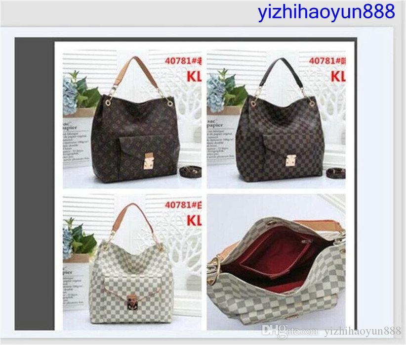 Di alta qualità della borsa del sacchetto di designer borse delle donne di alta qualità sacchetti di spalla di modo signore borse della spesa il trasporto libero portafogli A0037