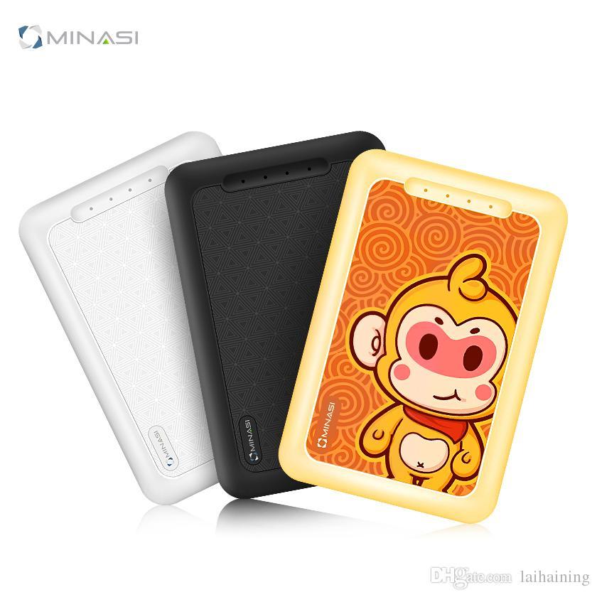 보물 10000mAh 휴대용 전원 공급 장치 OEM 브랜드 사용자 정의 선물 도매 크리 에이 티브 미니 휴대 전화 충전