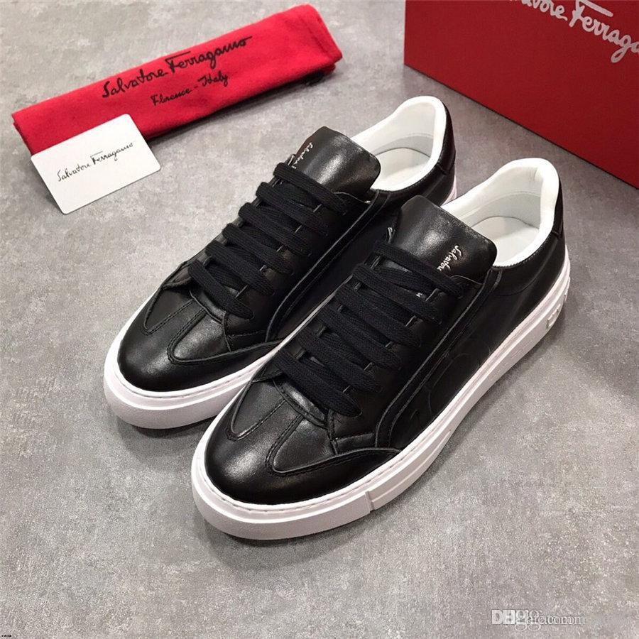 20FW Chegada Nova Primavera Verão sapatilhas confortáveis Casual Shoes Shoes Mens lona para homens do Laço-Acima marcas de moda Plano Loafers MADAOJ Shoe