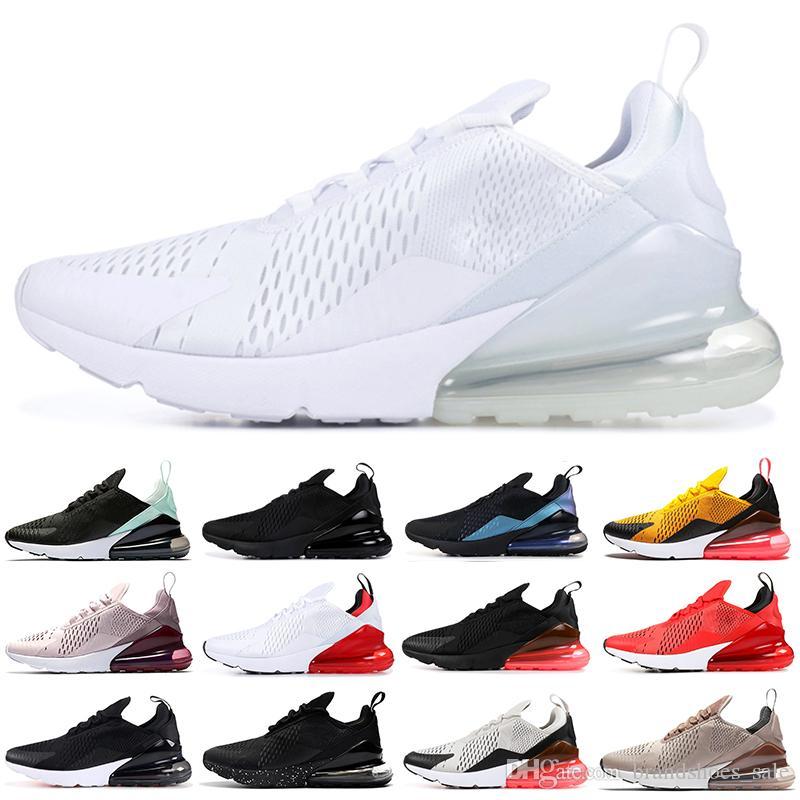 270s Vente en gros FUTURE chaussures de course pour hommes femmes Triple Black White BARELY ROSE rouge brun designer chaussures formateur baskets de sport