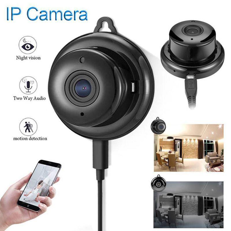 마이크와 무선 WiFi IP 카메라 미니 720 미니 IR 카메라 네트워크 P2P 베이비 모니터 CCTV 보안 비디오 카메라