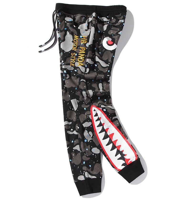 2020 Pantalons Hommes Jogger Mode de sports d'été Pantalons desserrées avec imprimé Tops Qualité Hommes Pantalons Plus Size S-5XL YF20497