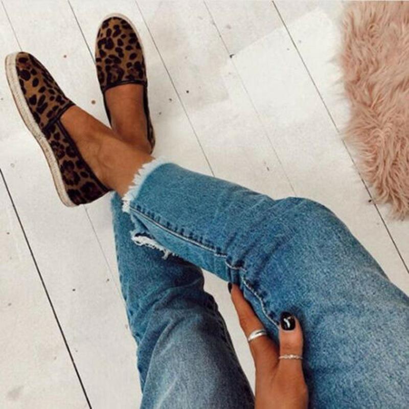 Adisputent Femmes Slip Sur Espadrilles Dames D'été Casual Plimsolls Chaussures Baskets Ballet Mocassins Plat Zapatos Mujer 2019