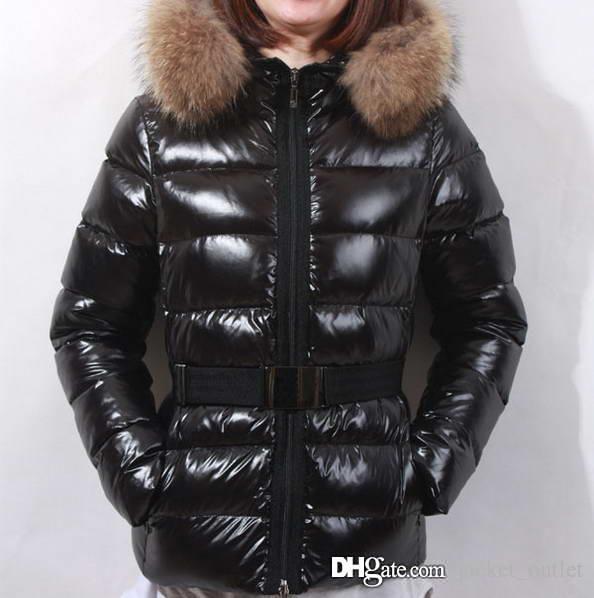Fashion Winter Down Jacket Warm Women Hoodies with Raccoon Fur Luxury Coats ladies Brand Designer outdoor Casual Outwear Top Parkas