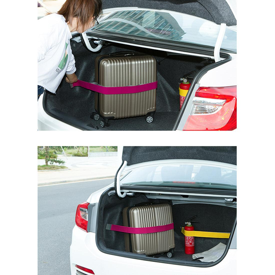 towing Tidying Promotion Car Trunk Organizer Elastic Car-styling Color Strap Fixed Sundry Stowing Tidying Auto Interior Accessories Dewtr...