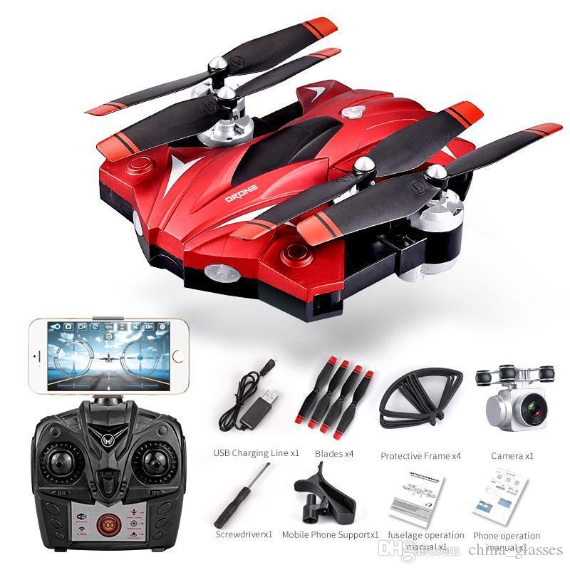 1pcs Drone 4K 1080P 720P 480P Atmosphärischer Druck Feste Fernbedienung Quadcopter S13 erwachsenes Spielzeug Drones Flugzeug