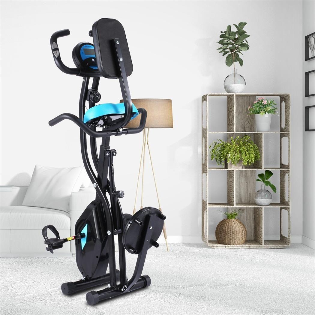 Fitness-Fahrrad-Zeit Geschwindigkeit oder Kalorienanzeige Spinning Bike Cardio Trainer Fat Burning Gewicht 120kg Indoor Heimtrainer Laden verlieren