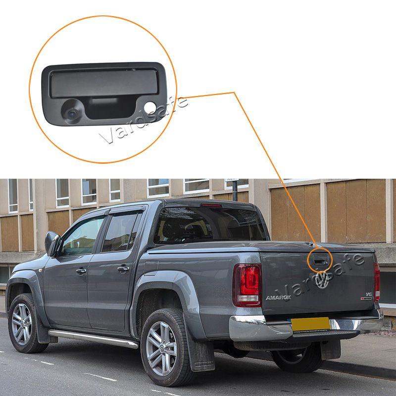 Vardsafe Tailgate Handle Rear View Backup Car Camera for Volkswagen VW Amarok