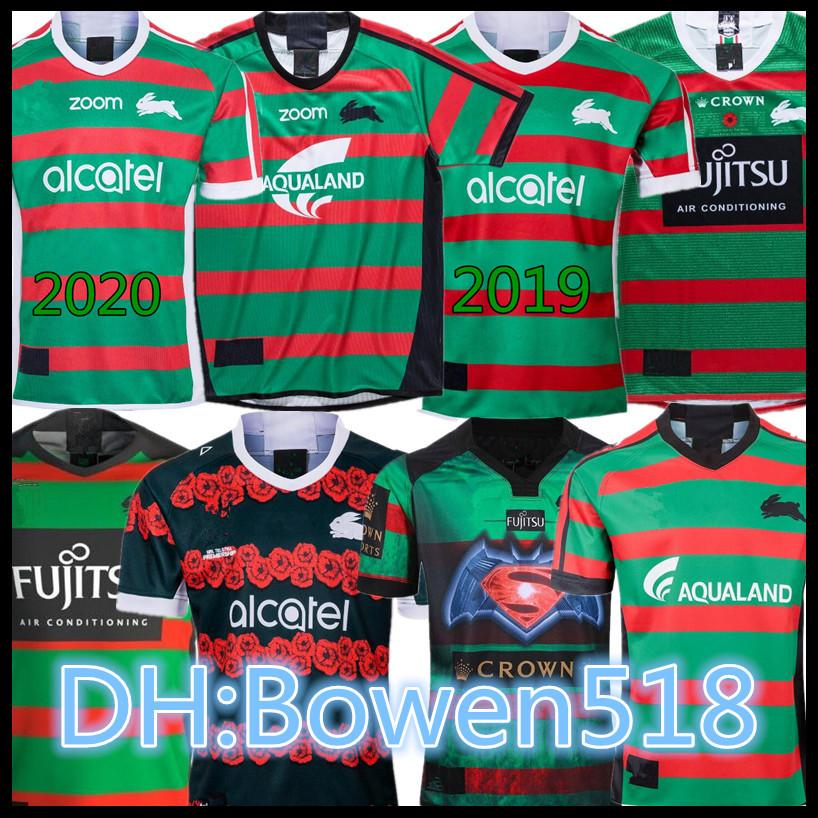 2020 18 19 20 South Sydney Rabbitohs Rugby Jesrey 2019 2020 National Rugby League Home Football Shirt Australia Anzac Rugby Shirt Jersey S 3xl From Bowen518 15 86 Dhgate Com
