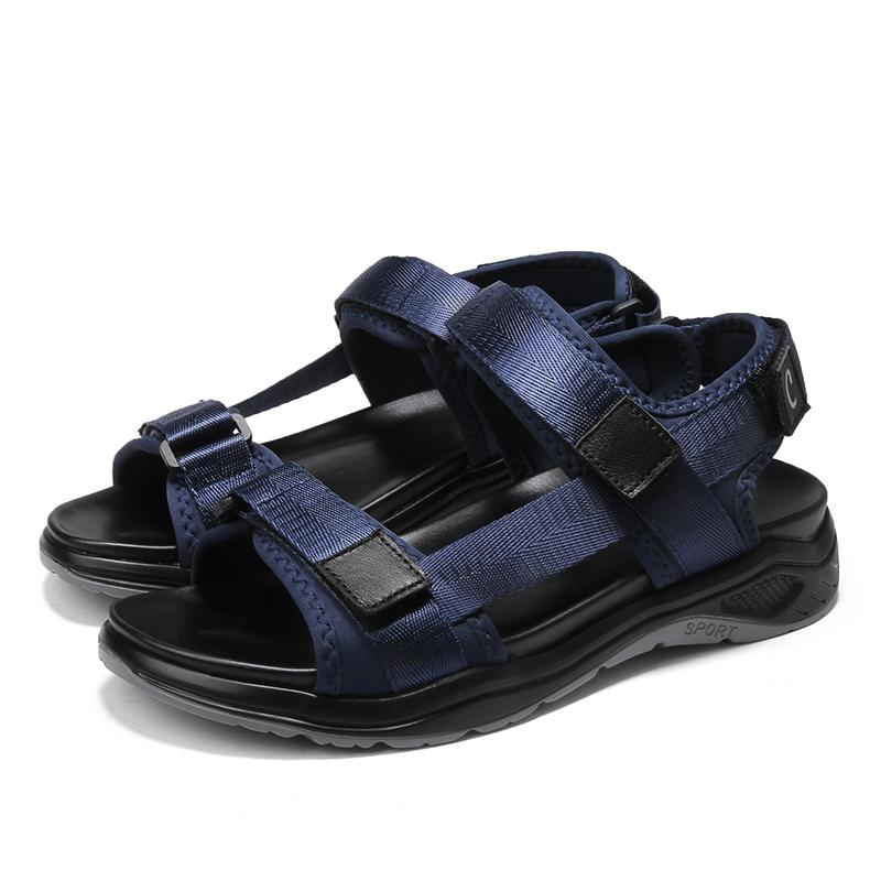Сандел работа sandalle Verano спорт 2020 кожа Homme унисекс для моды на открытом воздухе треккинг sandalen сандалии-мужчин Sandalia Heren-да