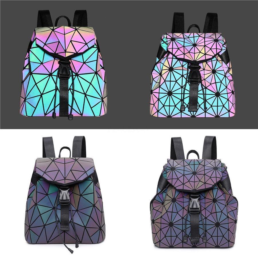 Luxury Handbag 2020 Fashion New High Quality Pu Luminous Women'S Designer Handbag Lock Chain Shoulder Messenger Bag Cute Bag #951