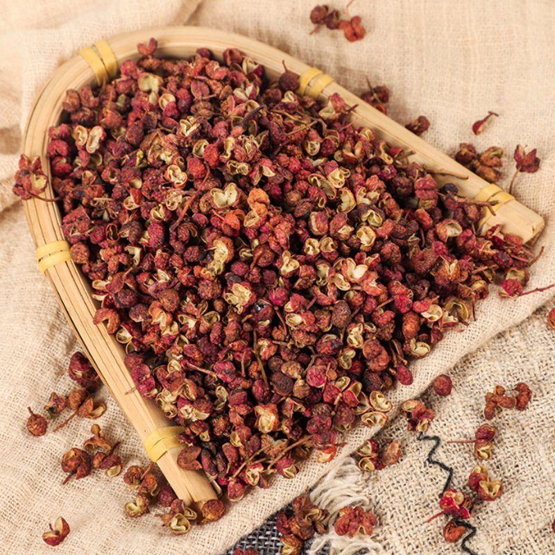 100g organique Huajiao rouge séché rouge Sichuan pepperChinese frêne épineux