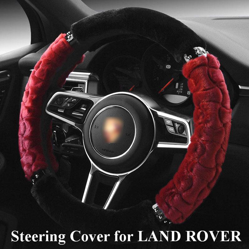 Car Steering Wheel Cover for land rover freelander 2/ discovery 3 All Model Car Steering Wheel Cover direksiyon omp momo