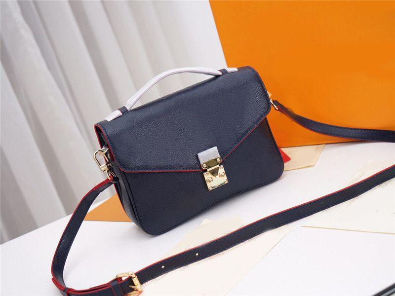 POCHETTE METIS M44071 sacs crossbody sacs à main des femmes sac véritable épaule d'embrayage fourre-tout en cuir 2020 New 7 choix de couleur