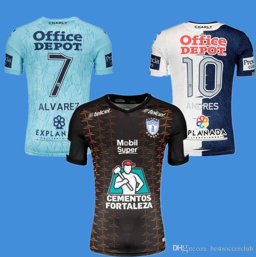 2021 2019 2020 Liga MX Team Pachuca CF Soccer Jersey 19 20 Pachuca ...