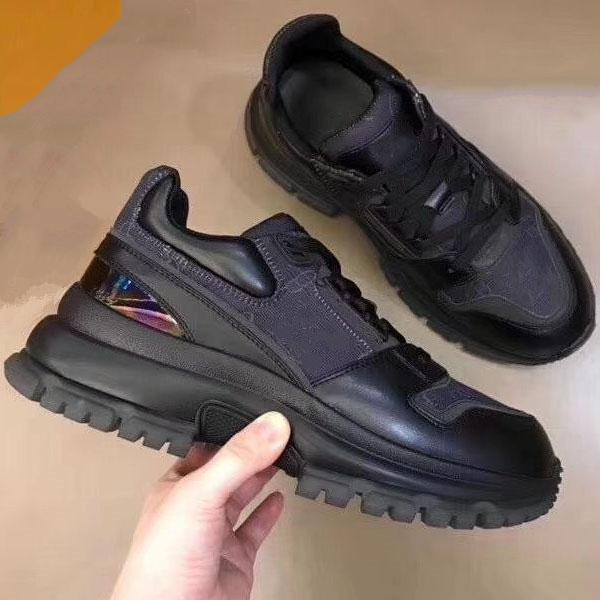 2020 nuovi casuali Scarpe scarpe patchwork degli uomini di disegno scarpe moda ABC scarpe in pelle di sport degli uomini di marca delle pour hommes veloce trasporta nc07