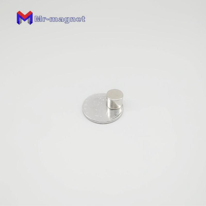 10Pcs Strong Rare Earth NdFeB Magnet 10 x 8mm Neo Neodymium N50 Magnets Craft Model Disc Sheet 10*8 mm