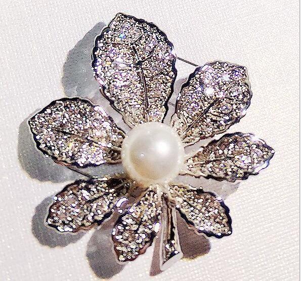 10 teile / los Mix Stil Mode Kristall Broschen Pins Für Schmuck Handwerk Geschenk BR013