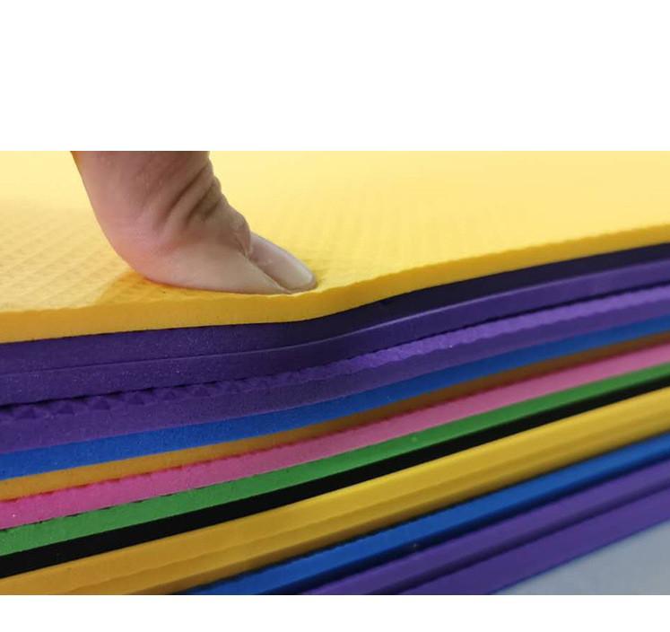 38 # Thick And Yoga Mat durevole antiscivolo Sport Fitness antislittamento Mat per perdere peso fitness Esercizio Pad Sport Yoga