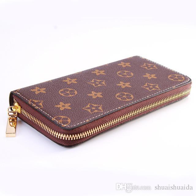 2019 men wallet Standard Wallets Wallets Soft cowhide men billfold Zero purse Small Wallets Card bag Wholesale Long High quality PU D062