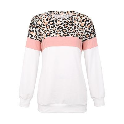 Womens Designer Sweatshirt Girls Camouflage Leopard Top Round Neck Clothes Hot Selling Top Fashion Style 2 Styles 2019 Autumn Size S-XL