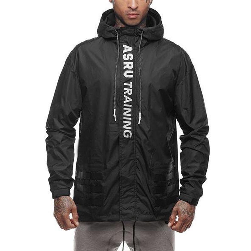 Nuevas sudaderas con capucha para hombre de la venta caliente de manga larga chaqueta con capucha con letras impresas ocio de secado rápido streetwear 2 el color M-2XL